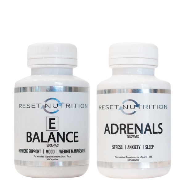 Reset Nutrition E-Balance + Adrenals Stack