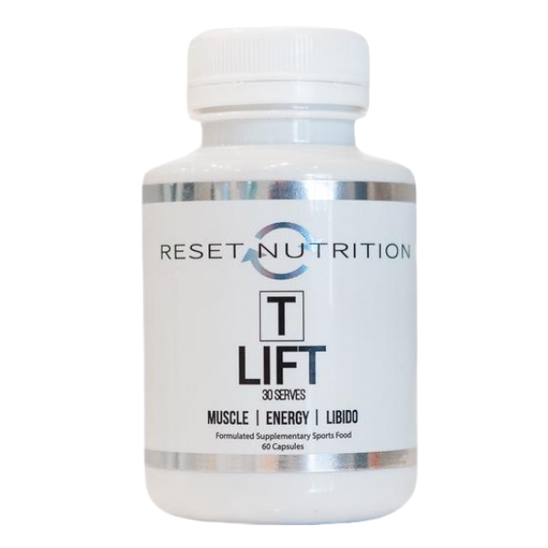 Reset Nutrition T-Lift testosterone booster
