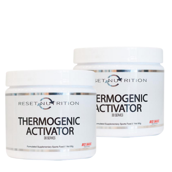 Reset Nutrition Thermogenic Activator Twin Pack