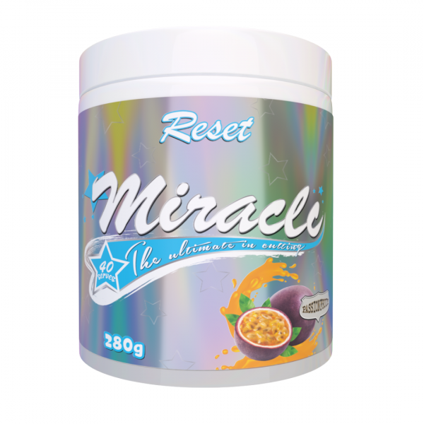Reset Nutrition Miracle Thermogenic Passionfruit Render