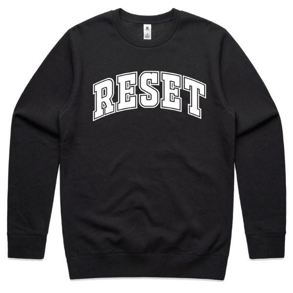 Reset Nutrition Unisex Pullover Hoodie - Black