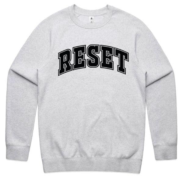 Reset Nutrition Unisex Pullover Hoodie - Grey