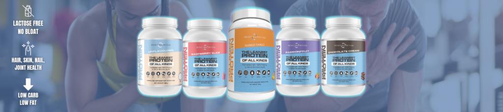 Reset Nutrition collagen Protein banner